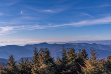 View From Mount Mitchell NC