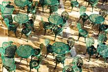 Garden Chairs On Balcony In Va...