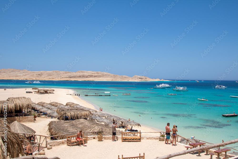 Fototapeta the beach of giftun island
