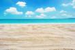 sand beach with sky