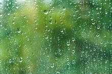 Close Up Of Fresh Water Drops ...