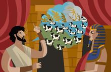 Joseph Interpretation Of Pharaoh Dreams Old Testament Tale