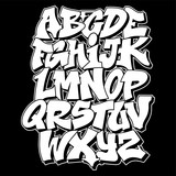 Fototapeta Młodzieżowe - Graffiti style lettering text design