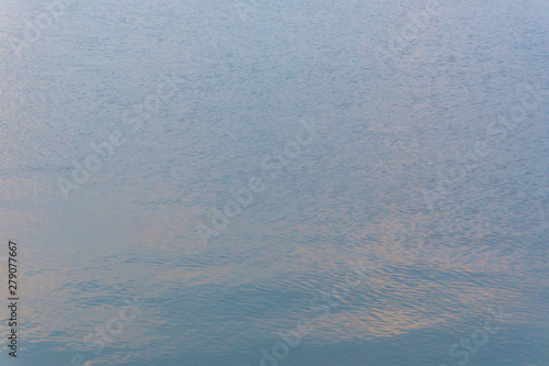 Water Ripple Surface Reflection Effect From Sunset And Sky Top View At Lake In Evening Day Blue Nature Wave Abstract Background Buy This Stock Photo And Explore Similar Images At Adobe Stock