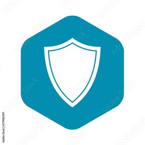 Fotografie, Obraz Shield for war icon