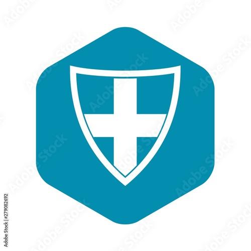 Fototapeta Shield for protection icon