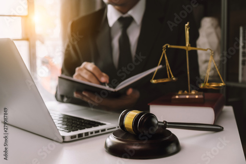 Fotografija  justice and law concept