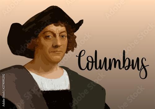 Fotomural  Christopher Columbus