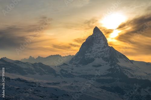 Fotografie, Obraz  Scenic view of Matterhorn, Switzerland