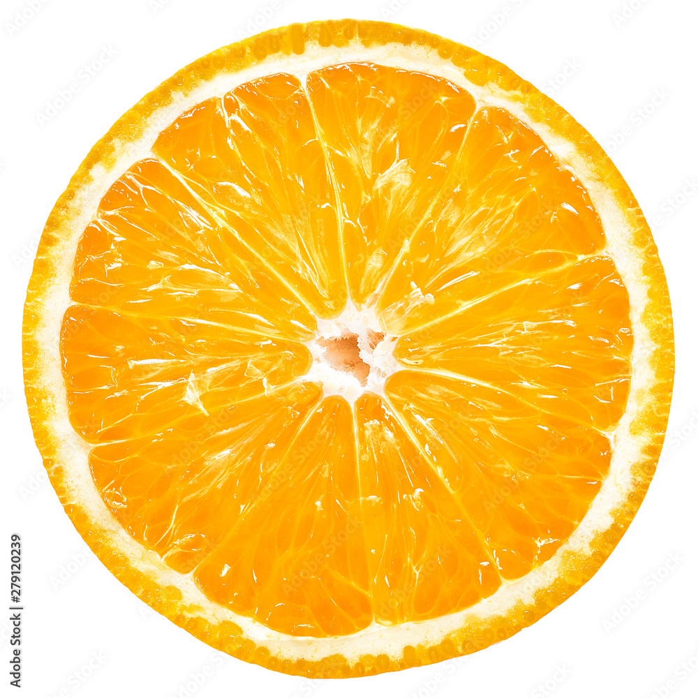 Fototapety, obrazy: Orange slice isolated