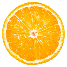 Orange Slice Isolated