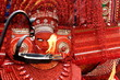Leinwanddruck Bild - Theyyam is a popular ritual form of worship in Kerala, India,