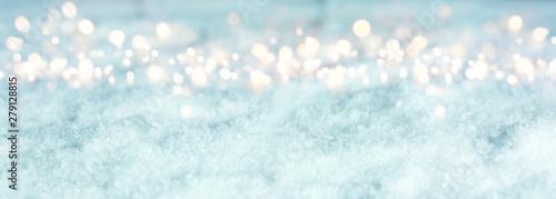 Photo sur Aluminium Bleu clair Cold blue winter background