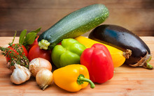 Assorted Vegetables For Ratatouille