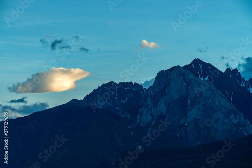 Colline tibet scenery