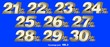 canvas print picture - Percentage numbers VOL.3 Gold metallic finish with removable background.