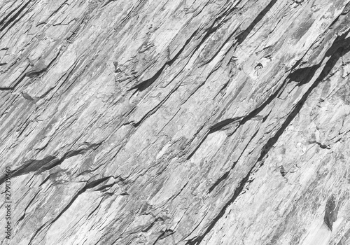 Canvas Prints Marble Rough layered white rock surface texture