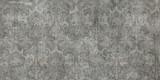 Stara ścienna tekstura z ornamentów elementami. Chrupot cementu ściany tło. Ceramiczna płytka dekoracyjna, retro, piękna abstrakcyjna dekoracja - 279150038