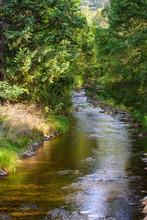 Kiewa River At Mt Beauty, In T...