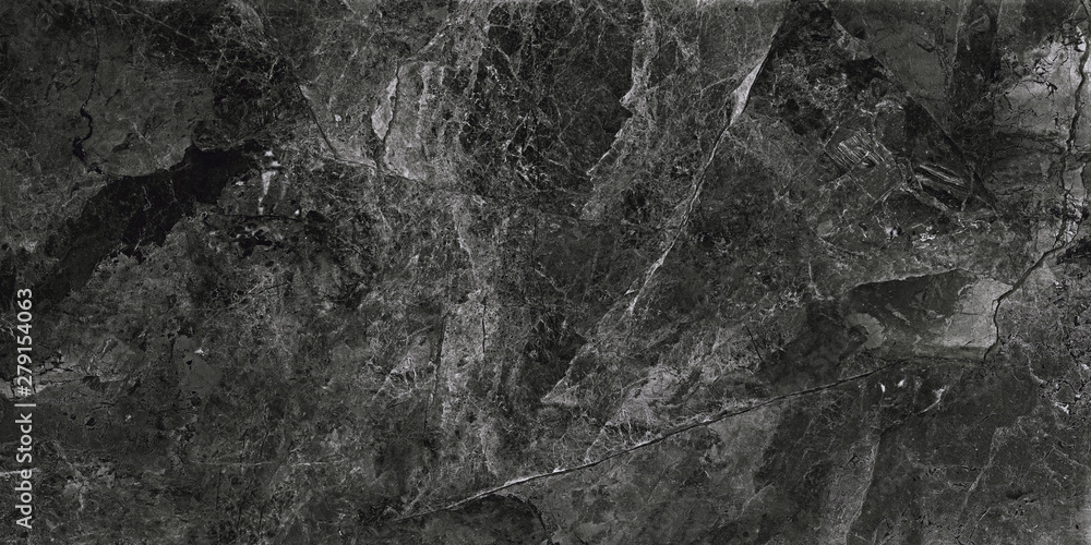 Fototapety, obrazy: Black marble background. Marble stone surface