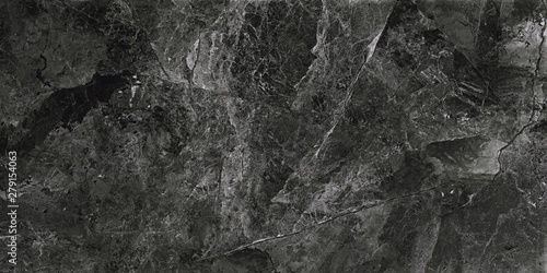 Black marble background. Marble stone surface - 279154063