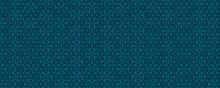 3d Illustration Blue Kaleidoscope Background