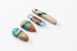 Ręcznie robiona biżuteria z żywicy i drewna #1