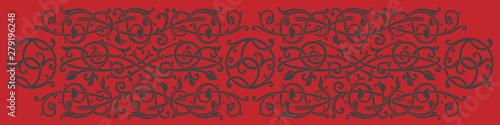 Fotomural  Celtic pattern ornament decoration design element.