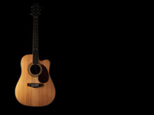 Six - String Acoustic Guitar  ...