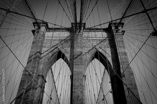 The Brooklyn Bridge, New York, New York