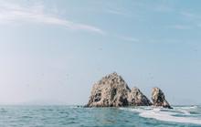 Small Rock Formation Island, Islas Ballestas, Paracas, Peru