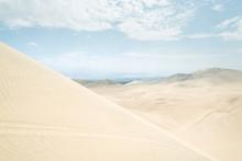 Sand Dunes In Huacachina Surroundings, Ica, Peru