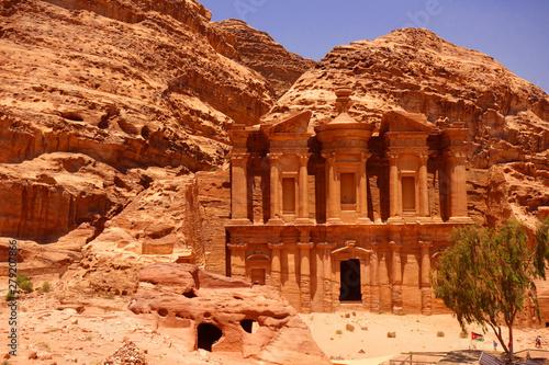 Fotografie, Obraz Klasztor monastery Petra Jordania