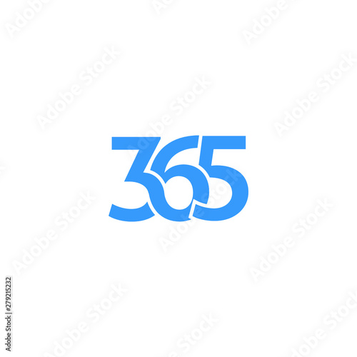 Fotografia, Obraz  365 icon logo