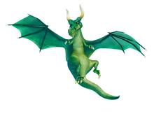 Dragon Cartoon Hanting