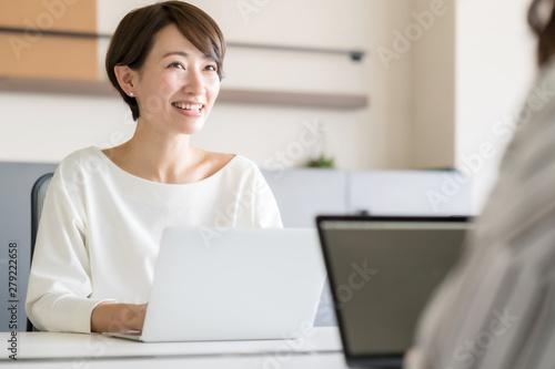 Obraz na plátne  ビジネス・女性