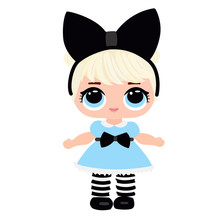 Cute Doll For Baby. Blonde In ...