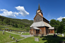 Kaupanger Stave Church Is The ...