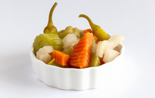 Assorted Pickles Vegetables Ca...