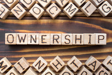 Ownership Wooden Cubes With Le...
