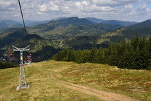 Travel Ride With A Chairlift I...