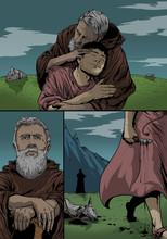 God Spares Isaac