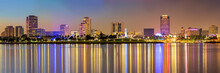 Downtown Long Beach Cityscape