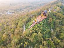 Aerial View Of Wat Phra That D...