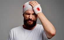 Young Man With Head Trauma