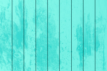 Texture of White Blue Green wood plank can be use for background. The white wood background is on top view of natural wooden from the forest show texture of original wooden.