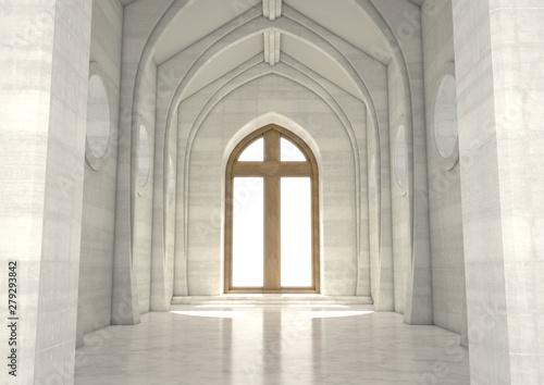 Obraz Decorative Church Window - fototapety do salonu