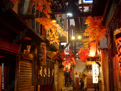 新宿の飲み屋街「思い出横丁」
