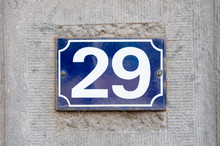 House Number 29