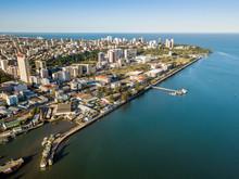 Aerial View Of Maputo, Capital...